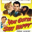 Films, November 14, 2018, 11/14/2018, You Gotta Stay Happy (1940): Romantic comedy with Oscar winning Joan Fontaine