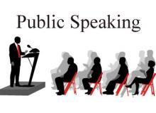 Workshops, January 22, 2019, 01/22/2019, Public Speaking