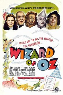 Films, August 16, 2019, 08/16/2019, The Wizard of Oz (1939): Two Time Oscar Winning Fantasy