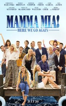 Films, January 05, 2019, 01/05/2019, Mamma Mia! Here We Go Again (2018): Musical with Meryl Streep