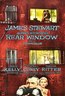 Films, January 05, 2019, 01/05/2019, Rear Window (1954): 4 time Oscar nominated suspense by Alfred Hitchcock