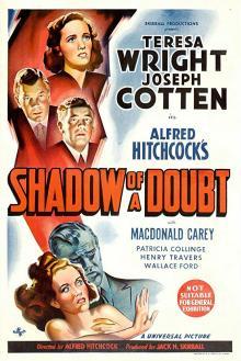 Films, January 31, 2019, 01/31/2019, Shadow of a Doubt (1943): Oscar nominated Hitchcock noir