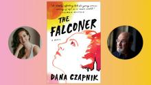Author Readings, January 29, 2019, 01/29/2019, The Falconer: Dana Czapnik discusses her book with literary giant Salman Rushdie
