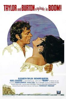 Films, June 08, 2019, 06/08/2019, Boom! (1968): Drama starring Elizabeth Taylor and Richard Burton