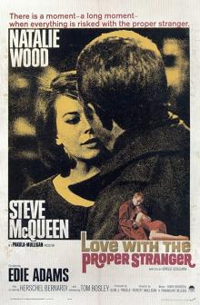 Films, March 28, 2020, 03/28/2020, Love with the Proper Stranger (1963): Five time Oscar nominated drama
