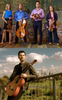 Concerts, February 12, 2019, 02/12/2019, String quartet and guitar
