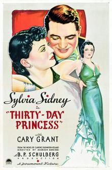 Films, January 14, 2019, 01/14/2019, Thirty Day Princess (1934): A European princess in New York City