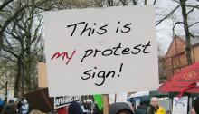 Workshops, January 15, 2019, 01/15/2019, Protest Sign Making Workshop