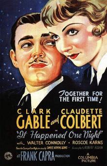 Films, January 09, 2019, 01/09/2019, It Happened One Night (1934): Five time Oscar winning romantic comedy by Frank Capra