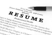 Lessons, January 18, 2019, 01/18/2019, Strengthen Your Resume