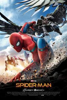 Films, January 05, 2019, 01/05/2019, Spider-Man Homecoming: (2017): Web-Slinging Adventure with Tom Holland, Michael Keaton, Robert Downey Jr.