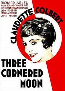 Films, February 11, 2019, 02/11/2019, Three-Cornered Moon (1933): the Great Crash of 1929