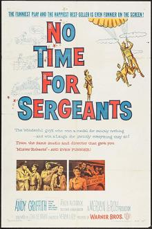 Films, February 28, 2019, 02/28/2019, No Time for Sergeants (1958): Comedy at the Air Force