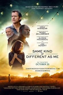 Films, January 12, 2019, 01/12/2019, Same Kind of Different As Me (2017): Life changing experience