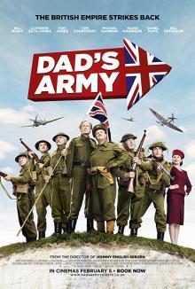 Films, January 18, 2019, 01/18/2019, Dad's Army (2016): A British war comedy starring Catherine Zeta-Jones