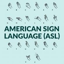 Workshops, January 14, 2019, 01/14/2019, American Sign Language