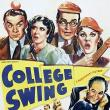 Films, January 09, 2019, 01/09/2019, College Swing (1938): Graduation for an unordinary cause