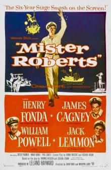 Films, January 24, 2019, 01/24/2019, Mister Roberts (1955): Oscar winning comedy-drama by John Ford and Mervyn LeRoy