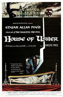Films, March 03, 2019, 03/03/2019, House of Usher (1960): Horror movie based on Edgar Allen Poe's tale