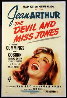 Films, March 06, 2019, 03/06/2019, The Devil and Miss Jones (1941): Two time Oscar nominated comedy
