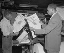 Workshops, February 20, 2019, 02/20/2019, Researching African American Historical Newspapers