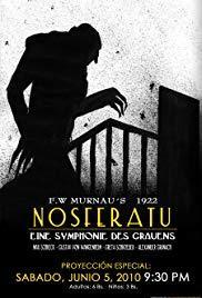 Films, January 31, 2019, 01/31/2019, Nosferatu (1922): silent horror classic accompanied by live music