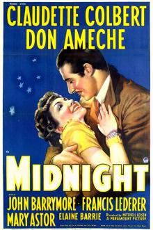 Films, January 19, 2019, 01/19/2019, Easy Living (1937) and Midnight (1939): Double feature of screwball comedies