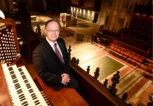 Concerts, January 18, 2019, 01/18/2019, Pipes at One Organ Recital: organist of the New York Philharmonic