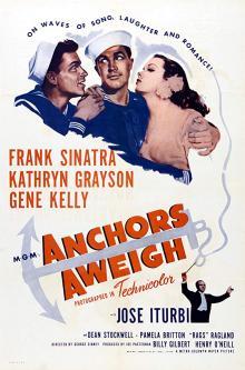 Films, February 21, 2019, 02/21/2019, Anchors Aweigh (1945): Oscar winning musical comedy
