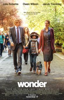 Films, February 22, 2019, 02/22/2019, Wonder (2017): Oscar nominated drama starring Julia Roberts and Owen Wilson