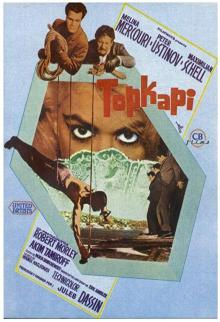 Films, February 15, 2019, 02/15/2019, Topkapi (1964): A heist in Istanbul for Sultan's dagger
