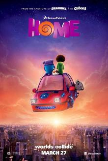 Films, February 13, 2019, 02/13/2019, Home (2015): 3D animation starring the voices of Rihanna, Jennifer Lopez
