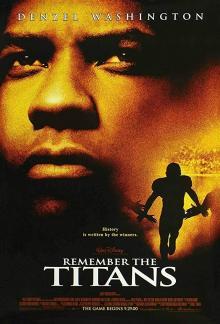Films, February 26, 2019, 02/26/2019, Remember the Titans (2000): Struggle of a coach starring Denzel Washington