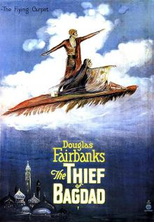 Films, March 09, 2019, 03/09/2019, Douglas Fairbanks is... The Thief of Bagdad (1924)