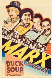 Films, March 14, 2019, 03/14/2019, Duck Soup (1933): Legendary comedy starring four Marx brothers