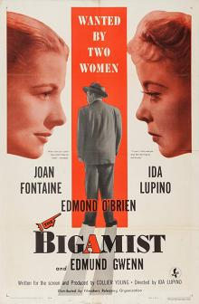 Films, March 14, 2019, 03/14/2019, The Bigamist (1953): Drama film noir starring Oscar winning Jane Fontaine