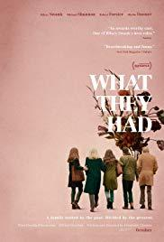 Films, February 12, 2019, 02/12/2019, What They Had (2018): With Blythe Danner, Michael Shannon, Hilary Swank