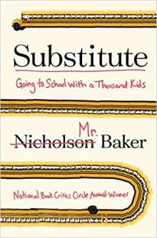 Talks, February 27, 2019, 02/27/2019, A Conversation with Author Nicholson Baker