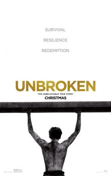 Films, February 28, 2019, 02/28/2019, Unbroken (2014): Three time Oscar nominated war movie based on a true story by Angelina Jolie
