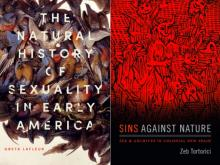 Author Readings, February 14, 2019, 02/14/2019, 2 New Books on Early American Sexuality