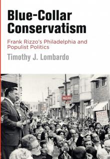 Author Readings, February 19, 2019, 02/19/2019, Blue-Collar Conservatism: Frank Rizzo's Philadelphia and Populist Politics