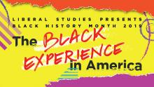 Discussions, February 27, 2019, 02/27/2019, The Black Experience in America: The Black Aesthetic
