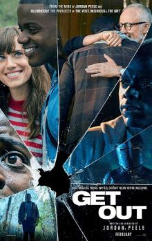 NYC, 02/16/2019, 2:00PM  Get Out (2017): Oscar winning