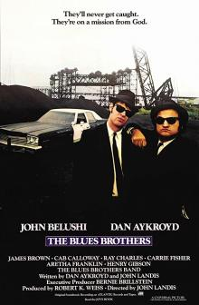 Films, February 15, 2019, 02/15/2019, The Blues Brothers (1980): Musical comedy on trying to save a church
