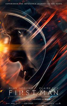 Films, February 26, 2019, 02/26/2019, First Man (2018): Story of the first person to walk on the Moon starring Ryan Gosling