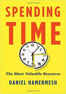 Author Readings, March 17, 2019, 03/17/2019, Spending Time: The Most Valuable Resource