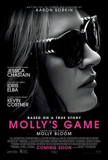 Films, February 22, 2019, 02/22/2019, Molly's Game (2017): Owner Of The Poker EmpireBecomes FBI Target