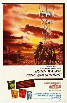 Films, March 18, 2019, 03/18/2019, John Ford's The Searchers (1956): Legendary Western Starring John Wayne