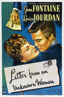 Films, March 28, 2019, 03/28/2019, Letter from an Unknown Woman (1948): Romantic Drama Based On A Novella By Stefan Zweig