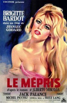 Films, February 21, 2019, 02/21/2019, Jean-Luc Godard's Contempt (1963): French Cinema Classic with Brigitte Bardot